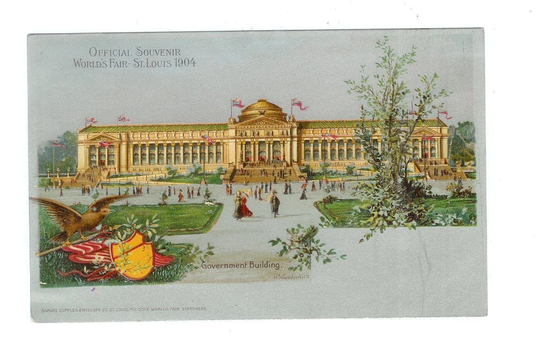 Old Postcard Official Souvenir World S Fair St Louis