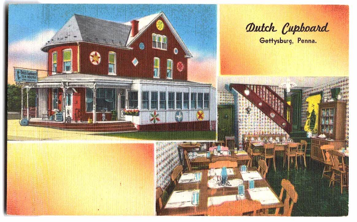 Unused Greetings from Gettysburg Vintage Pennsylvania Postcard